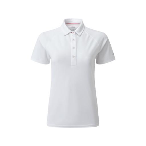 Gill UV Poloshirt Damen weiß