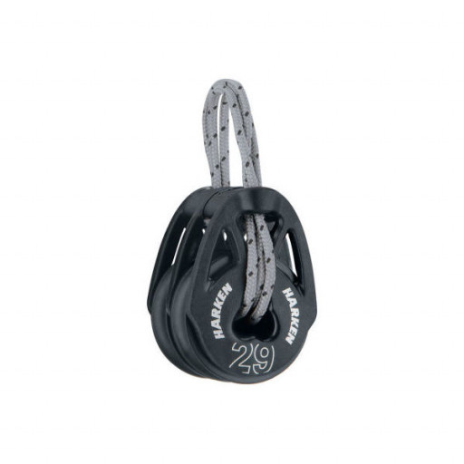 Harken Carbo T2 Block 29mm - zweischeibig mit Looptop
