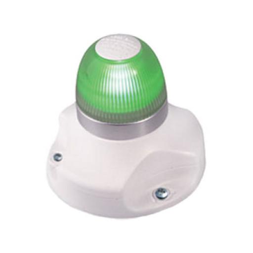 Hella Marine NaviLED 360 Signallaterne Grün BSH - Gehäusefarbe weiß