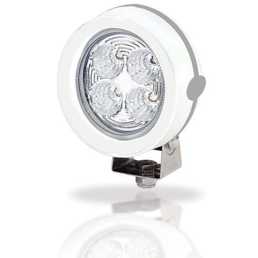 Hella Marine Serie 6136 LED Mega Beam Deckscheinwerfer - Gehäusefarbe weiß