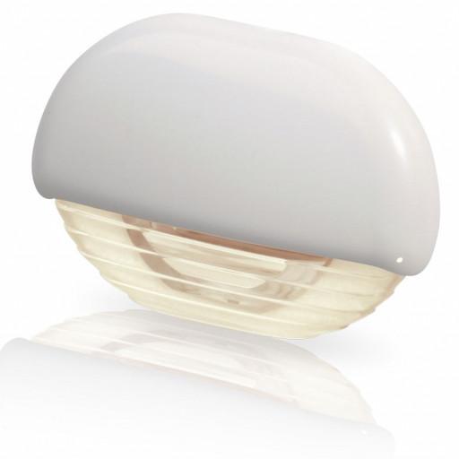 Hella Marine Serie 8560 Easy Fit Stufenleuchte LED - Gehäuse Kunststoff weiß, Lichtfarbe warmweiß