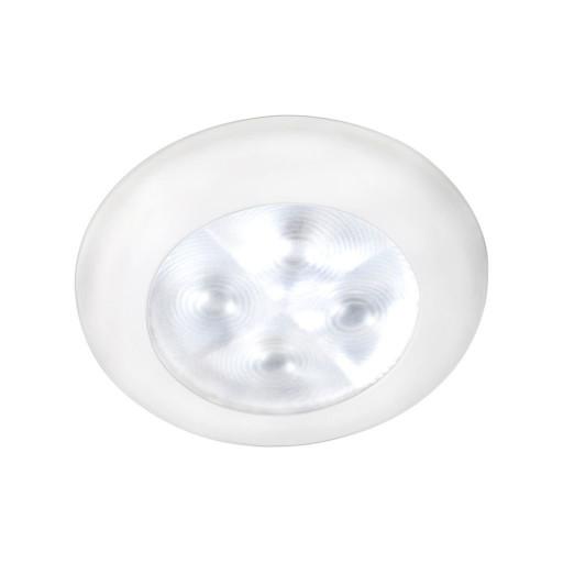 Hella Marine Serie 9599 Rakino Deckenstrahler LED - Gehäuse Kunststoff weiß - Lichtfarbe weiß - Spannung 24 Volt