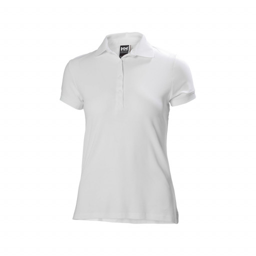 SALE: Helly Hansen Crewline Poloshirt Damen weiß