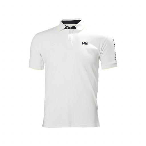 SALE: Helly Hansen HP Racing Poloshirt Herren weiß