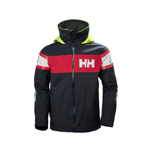 Helly Hansen Salt Flag Segeljacke Herren marineblau