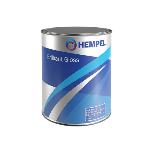 Hempel Brilliant Gloss Decklack - grau, 750ml