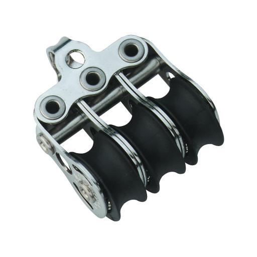 HS Sprenger Micro XS Block 6mm - dreischeibig mit festem Bügel
