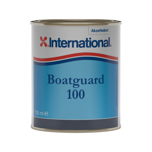 International Boatguard 100 Antifouling - rot, 750ml