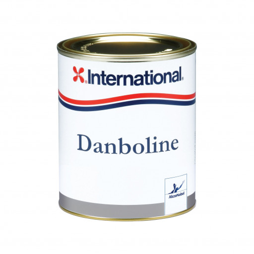 International Danboline Decklack - grau 100, 750ml
