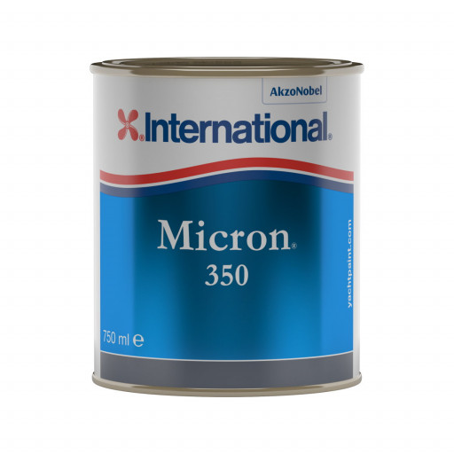 International Micron 350 Antifouling - schwarz, 750ml