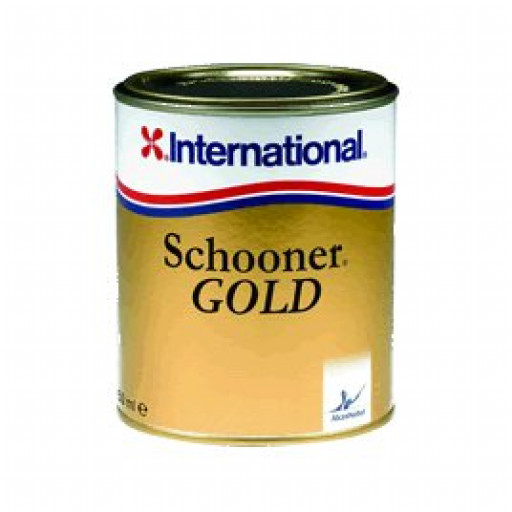 International Schooner Gold Klarlack - 750 ml