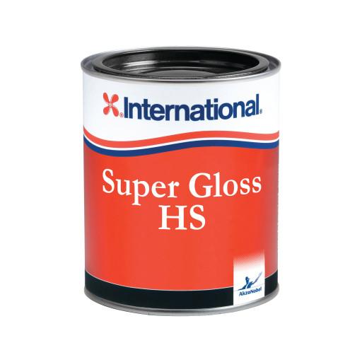 International Super Gloss Decklack - signalrot 233, 750ml