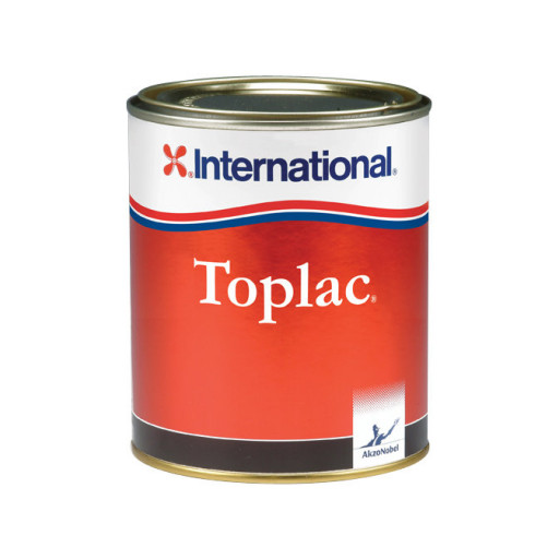International Toplac Bootslack - grün 077, 750ml