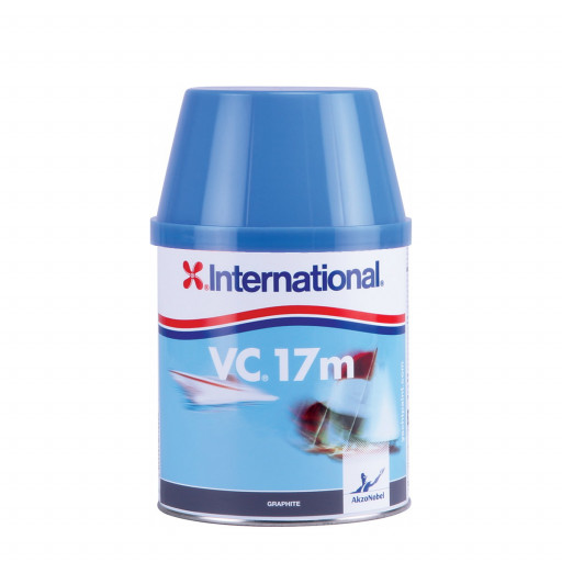 International VC 17m Antifouling - graphit 750ml