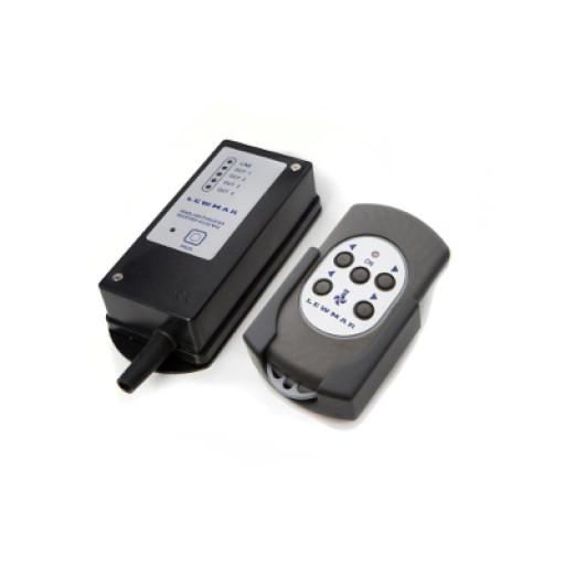 Lewmar Funkfernbedienung für Ankerwinde, Bugstrahlruder - 5-Knopf Schalter, schwimmfähig, wasserdicht