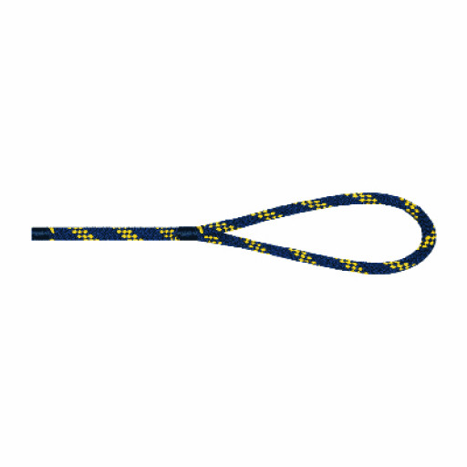 Liros Handy Elastic Festmacher 14mm Länge 15m marine/gelb
