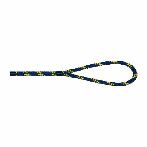 Liros Handy Elastic Festmacher 10mm Länge 15m marine/gelb