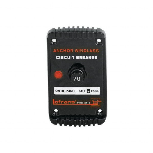Lofrans Schutzschalter Circuit Breaker Thermal, 70 A