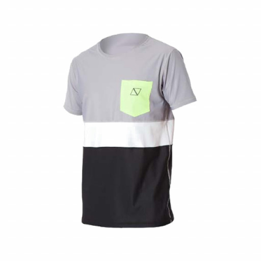 SALE: Magic Marine Cube Quickdry T-Shirt Unisex schwarz-grau
