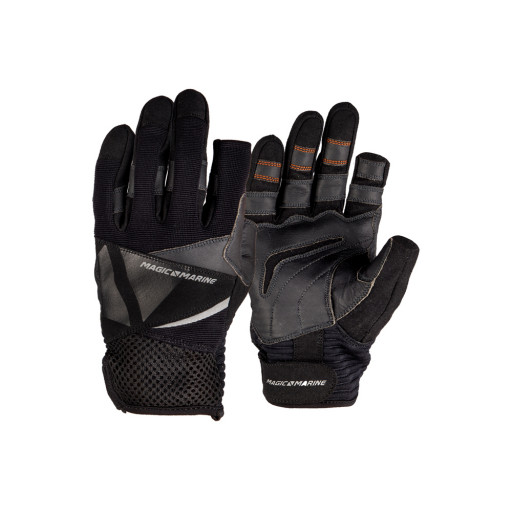 Magic Marine Ultimate 2 Segelhandschuhe Langfinger Unisex schwarz