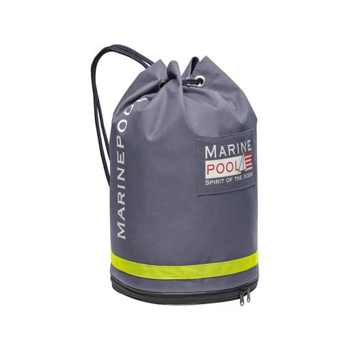 Marinepool Classic University Bag Segelsack wasserfest 32l grau