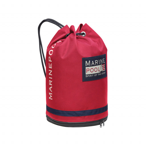 Marinepool Classic University Bag Segelsack wasserfest 32l rot