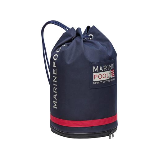 Marinepool Classic University Bag Segelsack wasserfest 32l navy
