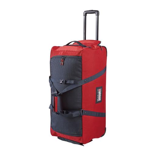 Marinepool Classic Wheeled Bag II Segel-Trolley Reisetasche 110l rot