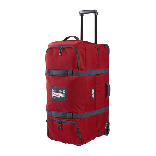 Marinepool Classic Wheeled Bag Segel-Trolley Reisetasche 140l rot