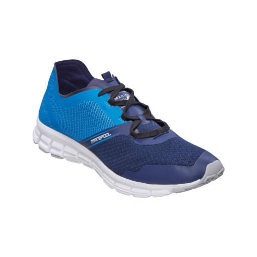 DEAL: Marinepool Impact Deck Shoe Segelschuh Unisex blau