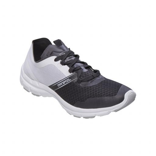 DEAL: Marinepool Impact Deck Shoe Segelschuh Unisex schwarz-weiß