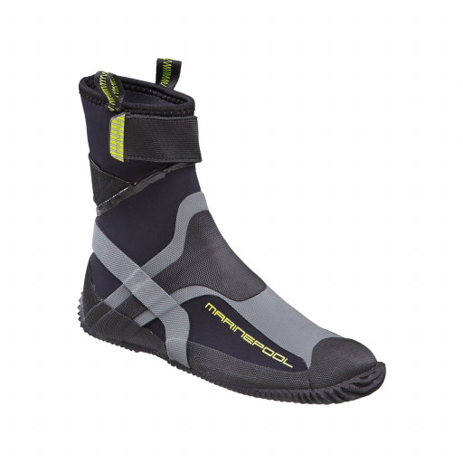 Marinepool NTS Pro Boots Neoprenstiefel grau-schwarz