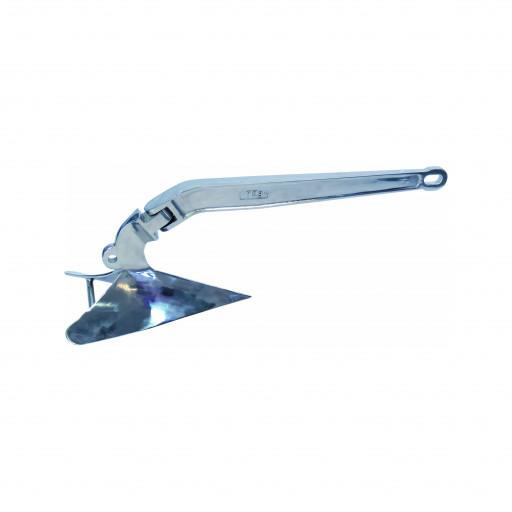 Edelstahl-Pflugscharanker - Gewicht 9kg