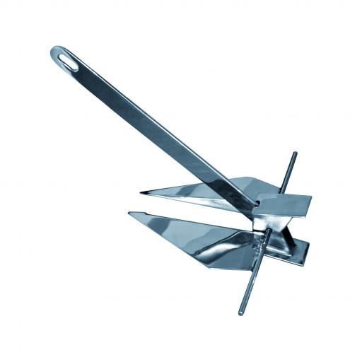 Edelstahl-Danforth-Plattenanker - Gewicht 15kg