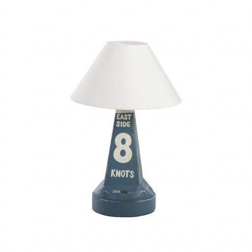 Maritime Lampe Boje 8 aus Holz - Höhe 38cm, 60W