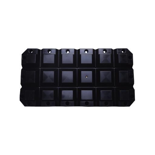 Multifender - 60x30x8cm, schwarz