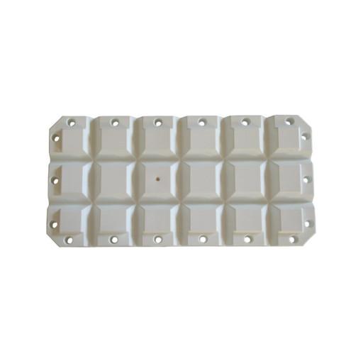 Multifender - 60x30x8cm, weiß