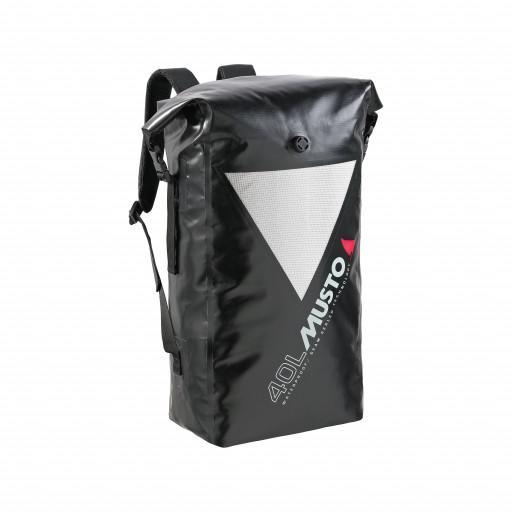 Musto MW Dry Backpack Segelrucksack wasserdicht 40l schwarz
