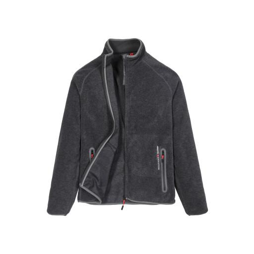 Musto Essential Polartec Fleece-Jacke Herren dunkelgrau