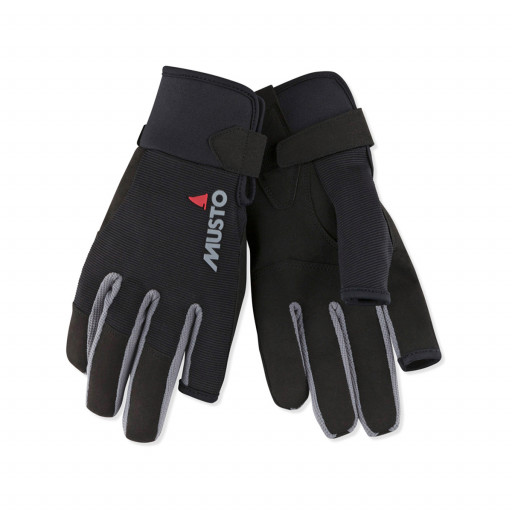 Musto Essential Segelhandschuhe Langfinger schwarz