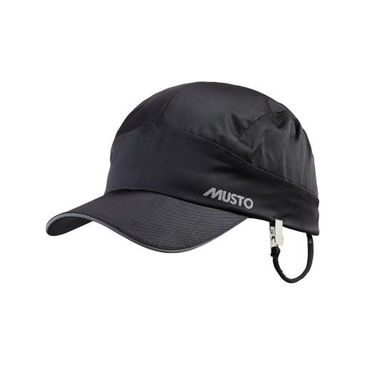 Musto Performance Cap Segelkappe wasserdicht schwarz