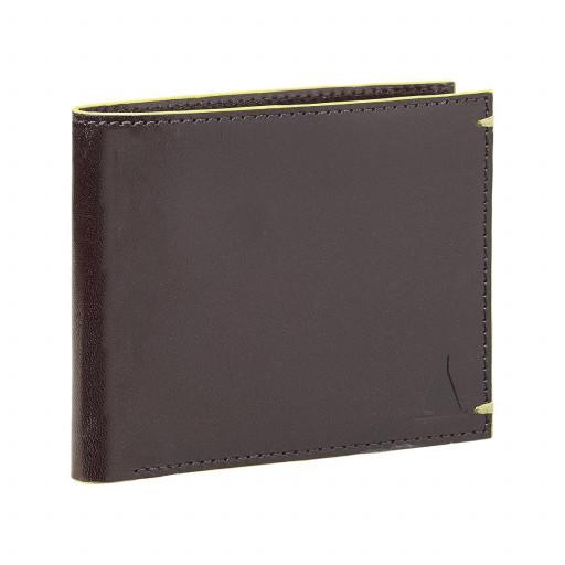 SALE: Musto Raw Edge Wallet Portemonnaie braun