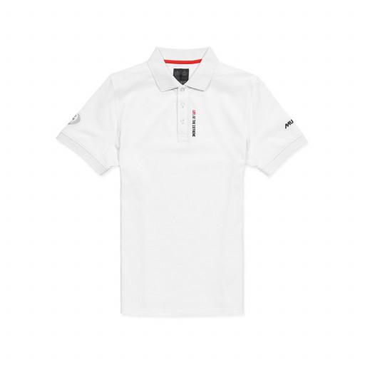 SALE: Musto Volvo Ocean Race Lisbon Poloshirt Herren weiß
