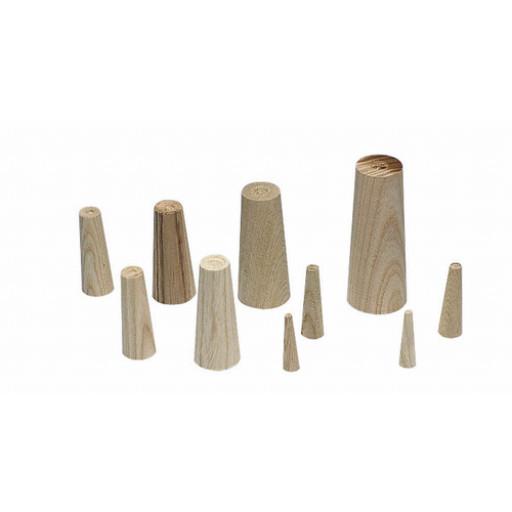 Plastimo Notstopfen-Set aus Holz - Länge 110 mm, Breite 19-50 mm
