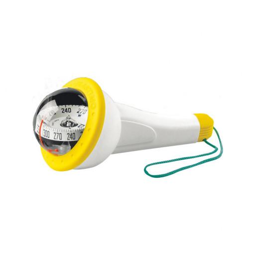 Plastimo Kompass Iris 100 - gelb, mit Beleuchtung