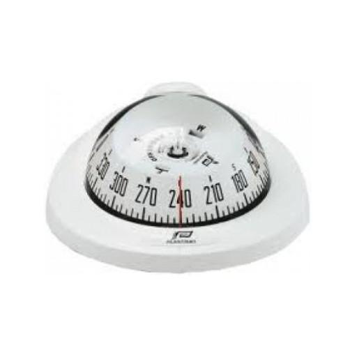 Plastimo Kompass Offshore 75 - weißer Kompassring, mit weißer Rose