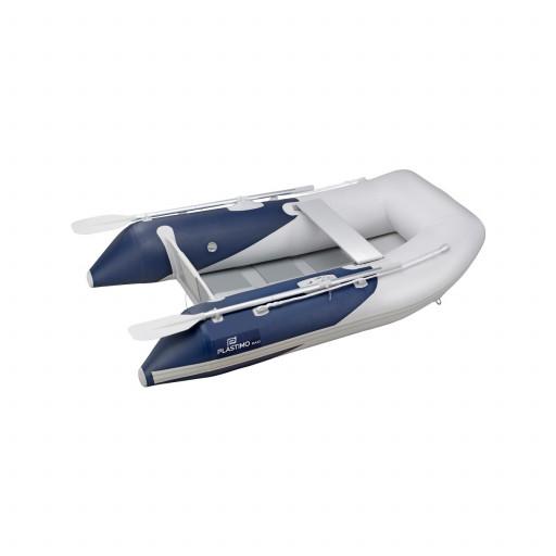 Plastimo Schlauchboot RAID II mit Lattenboden, Länge 2,00m, blau