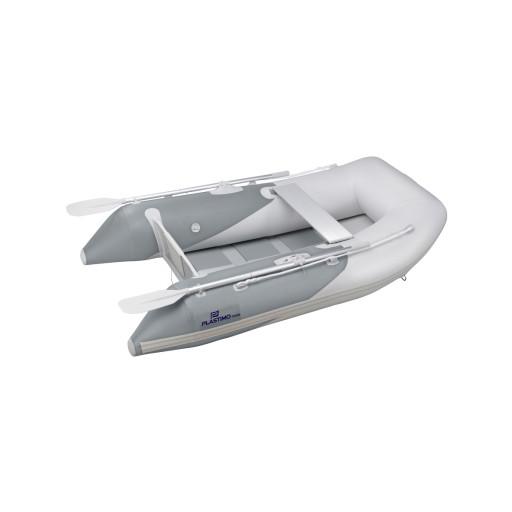 Plastimo Schlauchboot RAID II mit Lattenboden, Länge 2,00m, grau