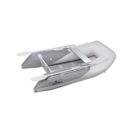 Plastimo Schlauchboot RAID II mit Lattenboden, Länge 2,40m, grau
