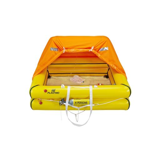 Plastimo Cruiser Standard Rettungsinsel 4 Personen Tasche